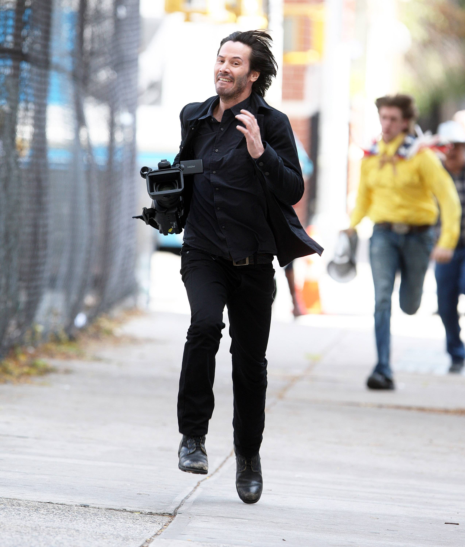 run with camera